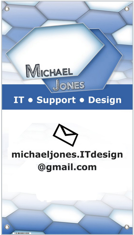 Michael Jones it design banner.